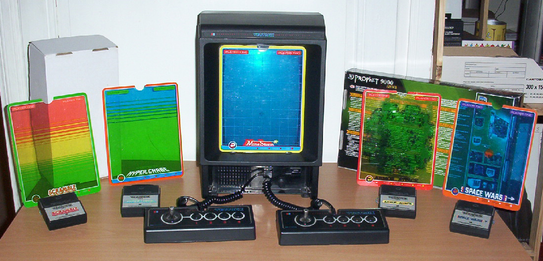 mister game price argus du jeu hardware mb vectrex console. Black Bedroom Furniture Sets. Home Design Ideas