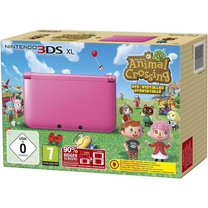 Mister game price argus du jeu hardware nintendo 3ds xl - Animal crossing new leaf consoles ...