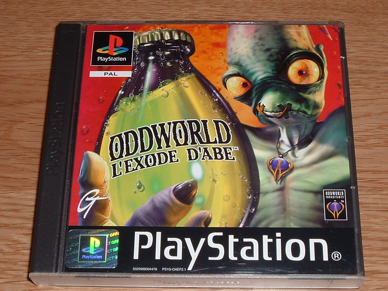 Argus du jeu Oddworld: L' Exode d' Abe