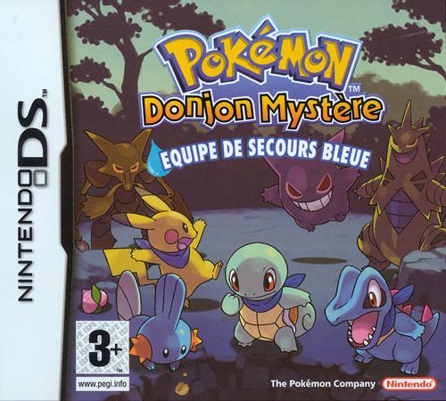 Pokémon Donjon Mystère : Equipe de Secours Bleue DS