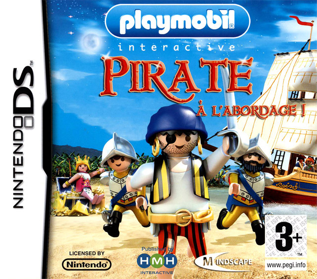 Playmobil Interactive : Pirate à l'Abordage DS