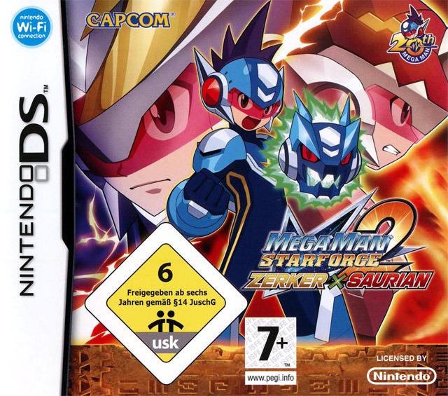 Mega Man Star Force 2 : Zerker X Ninja DS