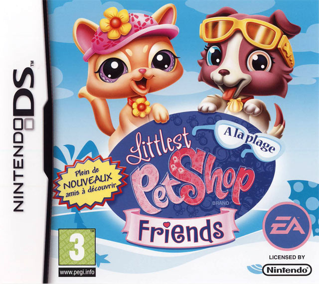 Littlest Pet Shop Friends : A la Plage DS