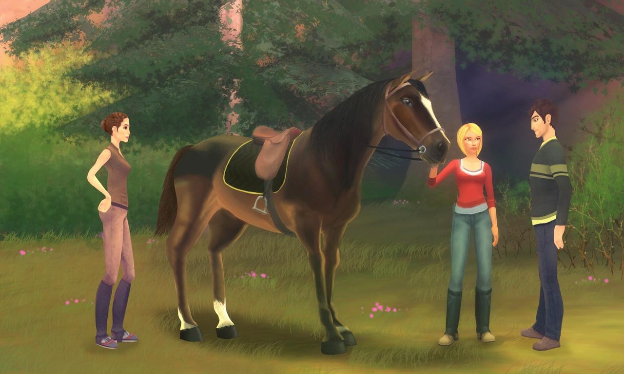alexandra ledermann la colline aux chevaux sauvages pc